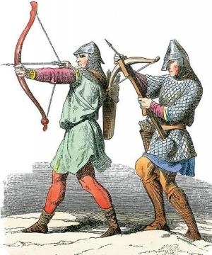 Лучник и арбалетчик