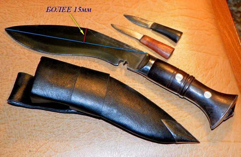 Нож Кухри не является холодным оружием по ГОСТУ